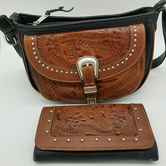 09bbbf648de4 American West Western Leather Purse & Wallet